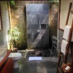 Second bathroom with outdoor shower