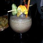 Cocktail analcolico con frutta