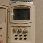 客室エアコンの使い方 分らない書き込み多いので載せます。 B6、SET,三角スイッチ温度調節で、快適に過ごせました。