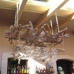 Interesting chandelier.