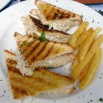 Toasted Chicken Mayonaise & Chips