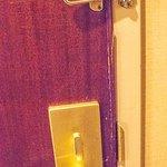 Door of a 4-star hotel