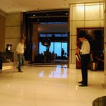 Lobby, They play live music in the evening.