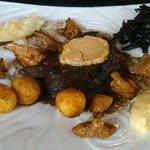 Pavé de lievre au foi gras