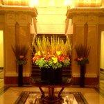Flower centerpiece Lobby
