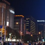 Novotel Peace Hotel, Beijing at night