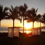 Nascer do Sol em frente ao Morada do Mar Hotel
