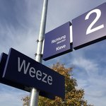 Weeze Germany train stop
