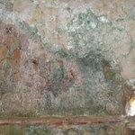 Traces of frescoes, Agia Kyriaki