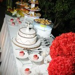 Mesa de pastel - Boda