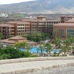 L'hotel visto dall'esterno
