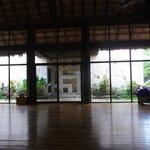sala para practicas yoga y meditacion