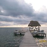 The obligatory picture of the palapa, Beautiful place to relax and watch the waves crash on the