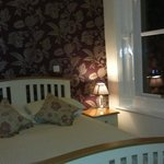Room 2 - with single bed and double bed, en-suite, bay window to front