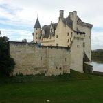 Château avec vue sur la Loire