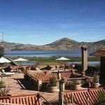 Vista del Lago Titicaca