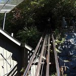 Looking up the Incline tracks