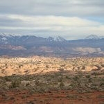 View in Arches National Park