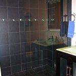 modern shower full bathtub also