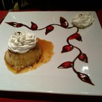 Flan at Little Mexican Cafe