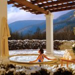 The Equinox Resort Spa Hot Tub