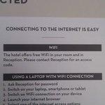 """Misleading """"Free Wifi"""" info"""