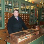 visiting the Apothecary Shop