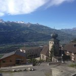 View from Hotel Oberland