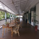 verandah for breakfast
