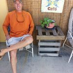Relaxing in Everglades City.