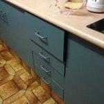 kitchen draws stiff very hard to close