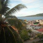 Esta fotografía está tomada desde la habitación, es una vista estupenda y para disfrutar