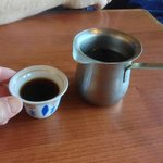 Turkish coffee - cute and tasty!