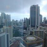 Vista en piso alto desde el Hotel Riu, muy buena