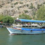 River boat in Dalyan