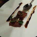 Maple Glazed Pork Belly appetizer