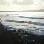 View from the headland towards St Ives