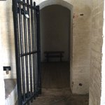 Holding cell inside the Fort