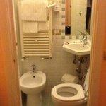 Dettaglio del bagno della stanza n. 26