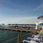 Sector de Playa Artificial y Bar