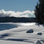 Winter at Shaver Lake