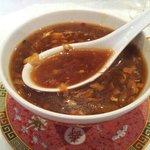 hot n sour soup...