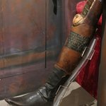 Famous Santa Anna's wooden leg