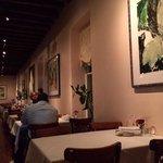 das sehr schöne Restaurant zu späterer Stunde schon etwas leerer