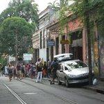 Hermosa calle.