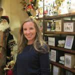 Catherine: Ms Christmas at Bergdorf - lovely to meet you