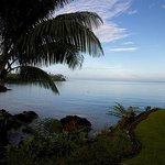 View from Paradise Taveuni (next to Spa)