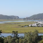 Knysna Lagoon from our deck