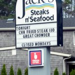 Jack's Steak N Seafood on 101