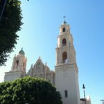 Mission Delores, view from the street!